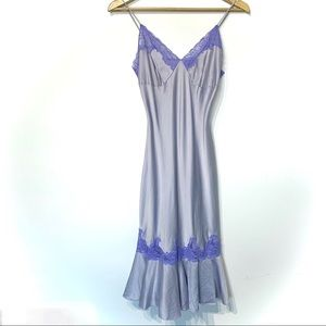 Victoria's Secret silk lace slip dress chemise